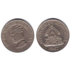 (79) Honduras. 1967. 20 Centavos (MBC)