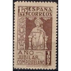 (833) 1937. 15 Céntimos. El Apóstol Santiago (Nuevo)