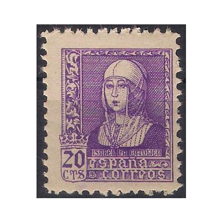 (855) 1939. 20 Céntimos. Isabel la Católica (Nuevo)