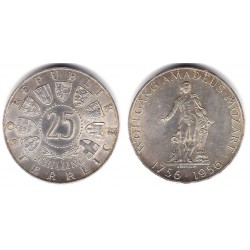 (2881) Austria. 1956. 25 Schilling (EBC+) (Plata)