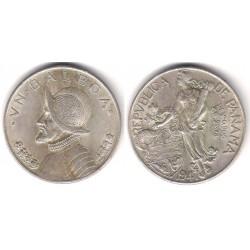 (13) Panamá. 1947. 1 Balboa (EBC) (Plata)