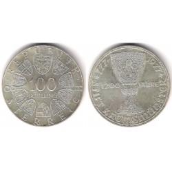 (2934) Austria. 1977. 100 Schilling (SC)