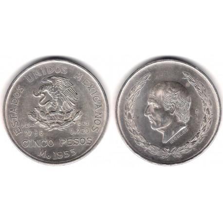 (467) Estados Unidos Mexicanos. 1953. 5 Pesos (EBC) (Plata)
