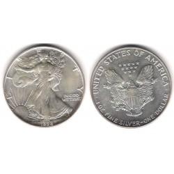 (273) Estados Unidos de América. 1988. 1 Dollar (SC) (Plata)