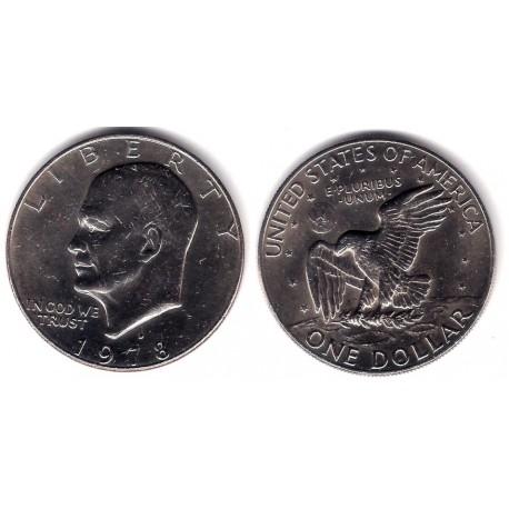(A203) Estados Unidos de América. 1978(D). 1 Dollar (MBC+)