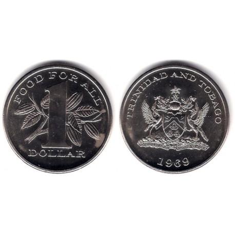 (6) Trinidad y Tobago. 1969. 1 Dollar (SC)