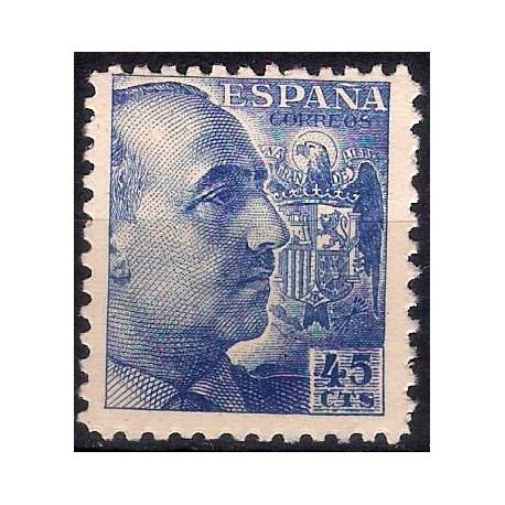 (926) 1940-45. 45 Céntimos. General Franco (Nuevo)