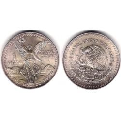 (494.2) Estados Unidos Mexicanos. 1990. 1 Onza (SC) (Plata)