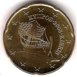 Chipre. 2008. 20 Céntimos (SC)