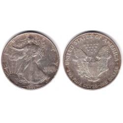 (273) Estados Unidos de América. 1991. 1 Dollar (MBC-) (Plata)