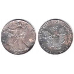 (273) Estados Unidos de América. 1991. 1 Dollar (MBC) (Plata)