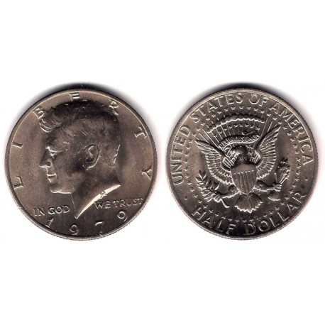 (A202b) Estados Unidos de América. 1979. Half Dollar (MBC)