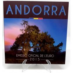 Andorra. 2015. Cartera Oficial (SC)
