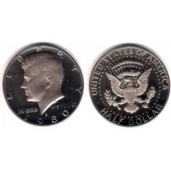 (A202b) Estados Unidos de América. 1980(S). Half Dollar (Proof)