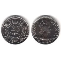 (36) Belice. 1989. 25 Cents (SC)