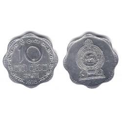 (140a) Sri Lanka. 1978. 10 Cents (EBC)