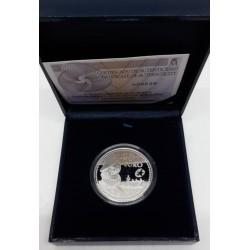 España. 2011. 10 Euro (Proof) (Plata) Francisco de Orellana