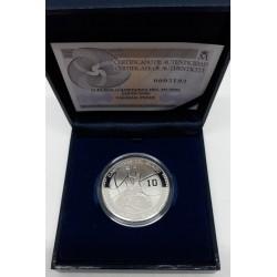 España. 2006. 10 Euro (Proof) (Plata) Campeones del Mundo Japón 2006