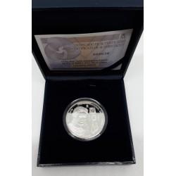 España. 2011. 10 Euro (Proof) (Plata) Año Internacional de la Quimica. Marie Curie