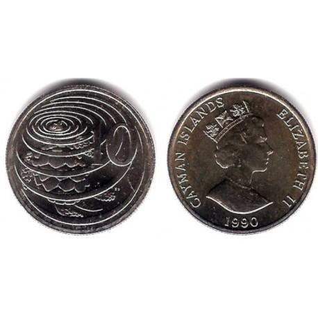 (89) Islas Caimán. 1989. 10 Cents (SC)