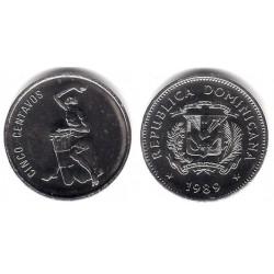 (69) República Dominicana. 1989. 5 Centavos (SC)