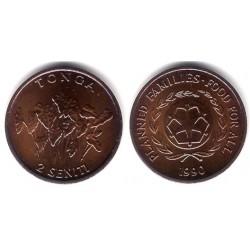 (67) Tonga. 1990. 2 Seniti (SC)