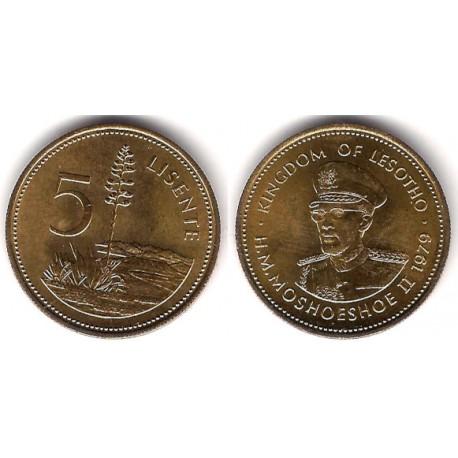 (18) Lesoto. 1979. 5 Lisente (SC)