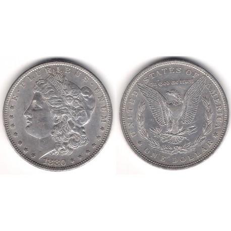 (110) Estados Unidos de América. 1880. 1 Dollar (EBC) (Plata)