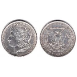 (110) Estados Unidos de América. 1890. 1 Dollar (MBC+) (Plata)