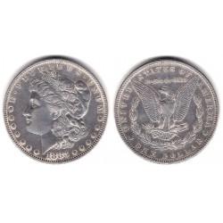 (110) Estados Unidos de América. 1883. 1 Dollar (MBC+) (Plata)
