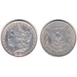 (110) Estados Unidos de América. 1896. 1 Dollar (EBC) (Plata)