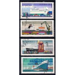 Polonia. 1976. Serie Barcos (4 valores) (Usado)