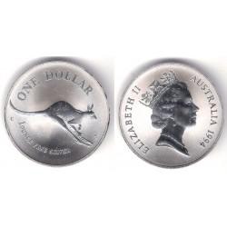 Australia. 1994. 1 Dollar (SC-) (Plata)