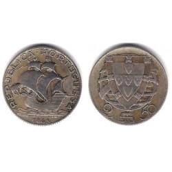 (580) Portugal. 1943. 2½ Escudos (MBC) (Plata)