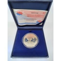 España. 2004. 10 Euro (Proof) (Plata) Xacobeo 2004 Galicia