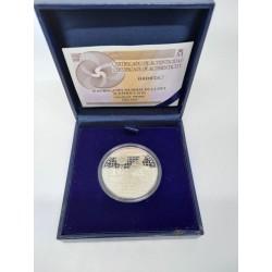 España. 2009. 10 Euro (Proof) (Plata) Copa Mundial FIFA Sudáfrica 2010