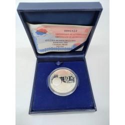 España. 2004. 10 Euro (Proof) (Plata) Copa Mundial FIFA Alemania 2006