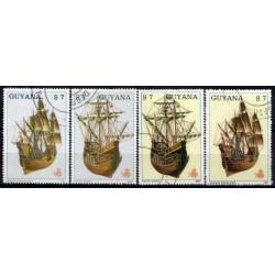 Guyana. 1987. Serie Naval (Usado)