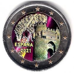 España. 2021. 2 Euro (SC) Coloreada