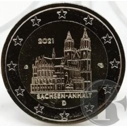 Alemania. 2021(F). 2 Euro (SC)