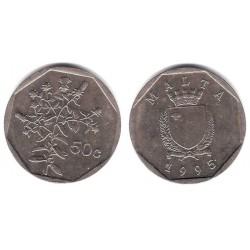 (98) Malta. 1992. 50 Cents (MBC)