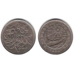 (80) Malta. 1986. 25 Cents (MBC)