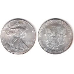 (273) Estados Unidos de América. 2001. 1 Dollar (SC) (Plata)