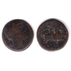 Cese (Tarragona). 120-20 a.C. As (RC+/BC-)