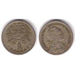 (578) Portugal. 1928. 1 Escudo (MBC-)