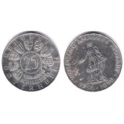 (2881) Austria. 1956. 25 Schilling (MBC) (Plata)