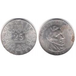 (2895) Austria. 1964. 25 Schilling (MBC) (Plata)