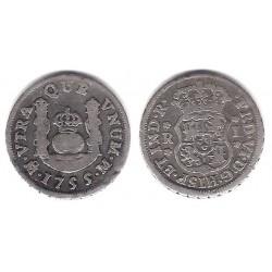 Fernando VI. 1755. 1 Real (MBC-) (Plata) Ceca de Mejico M