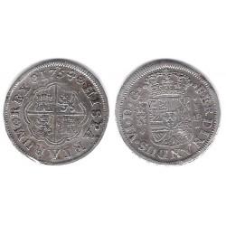 Fernando VI. 1754. 1 Real (MBC-) (Plata) Ceca de Madrid JB