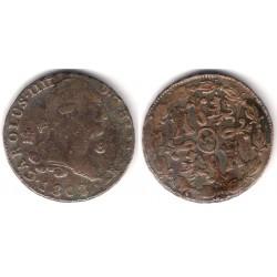Carlos IV. 1808. 8 Maravedi (BC) Ceca de Segovia